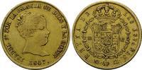80 Reales 1847, Spanien, Isabella II., 183...