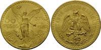 50 Pesos 1925, Mexiko, Centenario, kl.Kr.,...