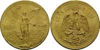 50 Pesos 1922, Mexiko, Centenario, Kr., kl...