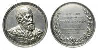 Versilberte Br.-Medaille 1885 Ungarn, 10 j...