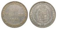 Taler 1842 Hessen-Kassel, Wilhelm II. und ...