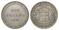 Taler 1841 Hessen-Kassel, Wilhelm II. und ...
