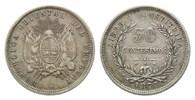 50 Centesimos 1877 Uruguay, Republik, seit...