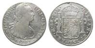 8 Reales 1791 FM Mo Mexiko, Karl IV., 1788...