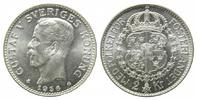 2 Kronen 1938 G Schweden, Gustaf V., 1907-...