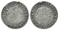 1/4 Reichstaler 1604, Sachsen, Christian I...
