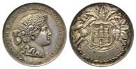 Silbermedaille o.J.(Grav.1 Hamburg, Preism...