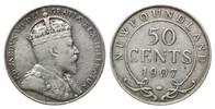 50 Cents 1907, Neufundland, Edward VII., 1...