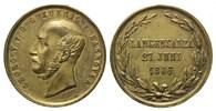 Medaille v. Jauner, 1866, Hannover, Georg ...