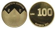 100 Euro 2011 Slowenien, 20 Jahre Unabhäng...
