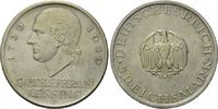 5 Mark 1929 J Weimarer Republik, Lessing, ...
