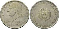 5 Mark 1929 J Weimarer Republik, Lessing, ...