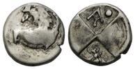 Hemidrachme 400-350 v.  Thrakien, Stadt Ch...