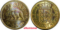 Bronze 1921 World Coins Sweden Gustaf V   ...