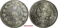 1/2 Rouble 1814 World Coins RUSSIA ALEXAND...