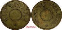 1 Cent 1890 World Tokens DANISH WEST INDIE...