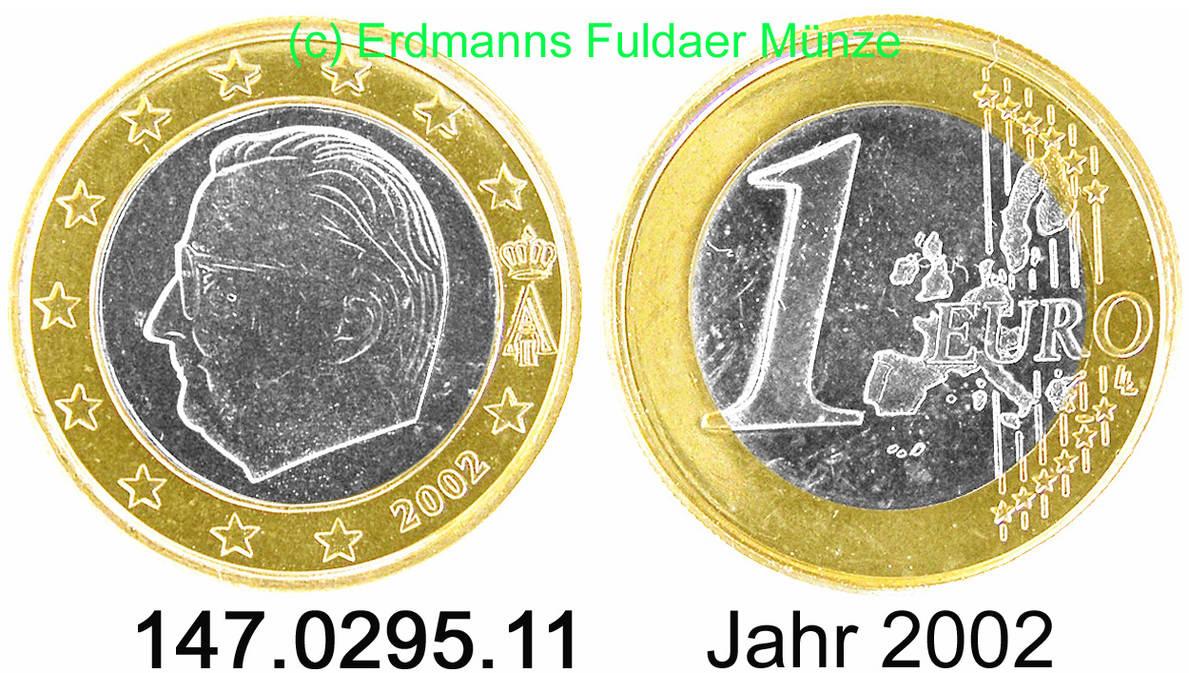 1 Euro 2002 Belgien 1 Euro 147029511 Fdc Ma Shops