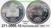 1 Pound 1980 Egypt Ägypten *227 Rechtsfakultät Uni Cairo . .  271.0666.... 46,60 EUR  +  8,95 EUR shipping