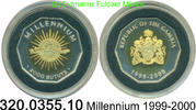 2000 Dalasis 2000 Gambia *69 Millennium . 320.0355.10 PP  49,75 EUR  +  8,95 EUR shipping