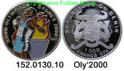 1000 Francs 1997 Benin(Dahomey) *48 KM21 . 152.0130.10 PP  39,75 EUR  +  8,95 EUR shipping