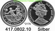 1 Crown 1986 Isle of Man Insel Man *217b KM469a FWM´86 Mexico Torszene ... 39,00 EUR  +  8,95 EUR shipping