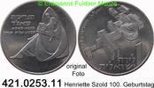 1 Lira 1960 Israel *27 KM32 Herietta Szold unc  80,00 EUR  +  8,95 EUR shipping