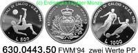 500 + 1000 Lire 1994 San Marino *316+*317 KM217,318 FWM´94 . 630.0443.5... 26,75 EUR  +  8,95 EUR shipping