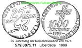 1000 Escudos 1999 Portugal *228 Nelkenrovolution . 579.0875.11 unc  22,00 EUR  +  8,95 EUR shipping