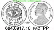 20 Baht 1995 Thailand *470 KMY308 FAO 50 Jahre . 684.0917.10  PP  35,00 EUR  +  8,95 EUR shipping