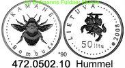 50 Litas 2008 Litauen *90 KM159  Hummel . 472.0502.10 PP  44,75 EUR  +  8,95 EUR shipping