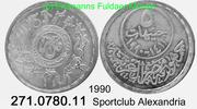 5 Pounds 1990 Egypt Ägypten *411 Sportclub Alexandria . 271.0780.11 unc  39,00 EUR  +  8,95 EUR shipping