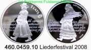 1 Lats 2008 Latvia Lettland mit Europastern . 460.0459.10 PP  33,75 EUR  +  8,95 EUR shipping