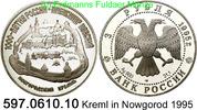 3 Rubel 1995 Russland *417 KMY468 Kreml in Nowgorod . 597.0610.10 PP  34,75 EUR  +  8,95 EUR shipping