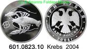 3 Rubel 2004 Russland *829 KMY860 Krebs . 601.0823.10 PP  75,00 EUR  +  8,95 EUR shipping