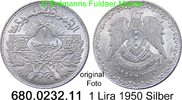 1 Lira 1950 Syrien *17 KM85 Erhaltung unc