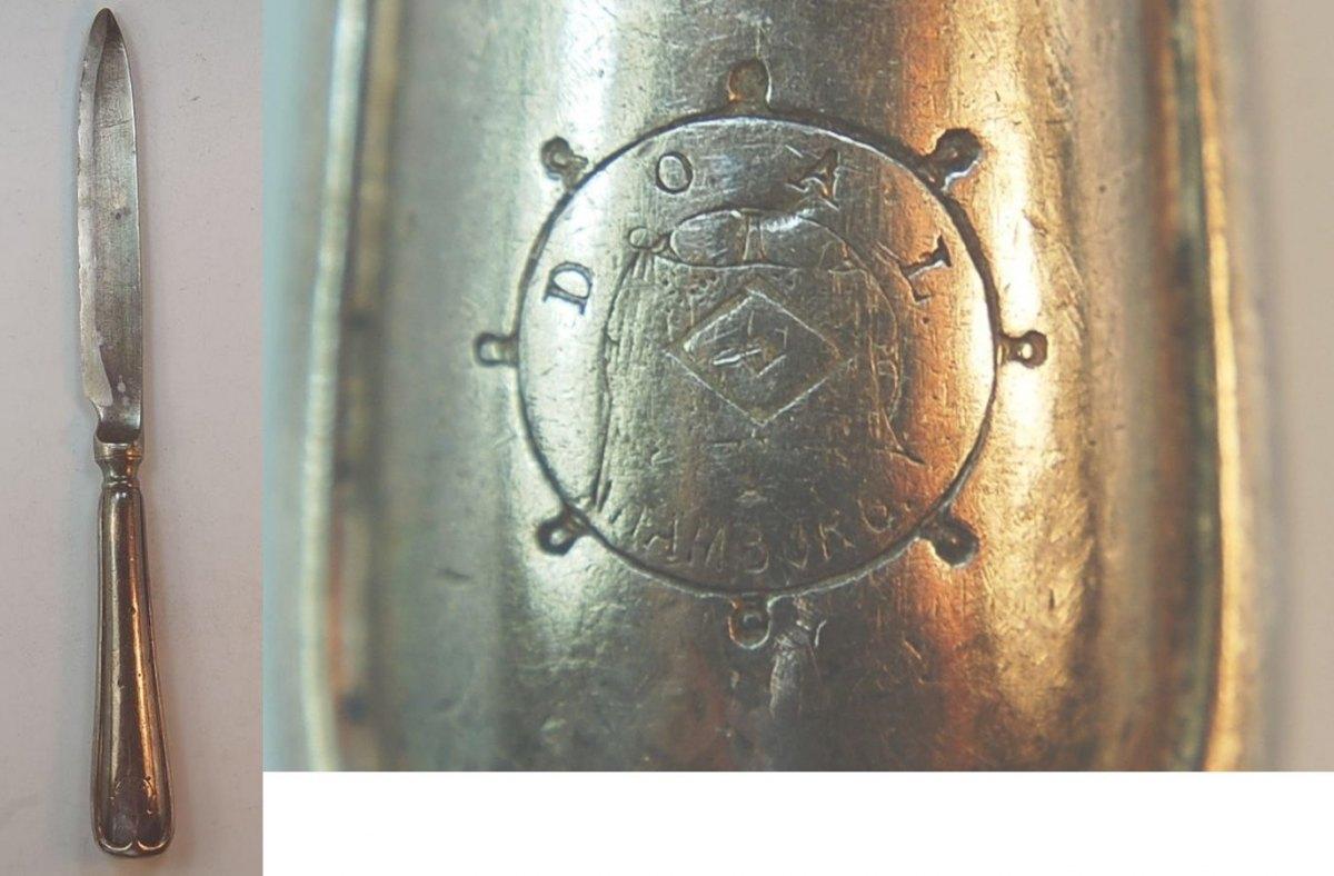 Silbermesser Deutsch Ostafrika Linie Deutschland Hamburg Doal