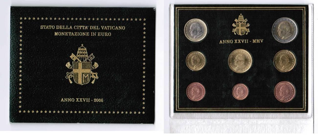 Offizieller Kurssatz 2005 2005 Vatikan Vatikan Offizieller Kurssatz