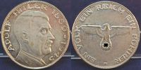 Silberfarbene Medaille (70iger Jahre) (194...