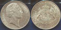 1 Vereinstaler 1867 Bayern Ludwig II.König...