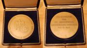 Medaille Tunesien  Deutschland / Tunesien ...