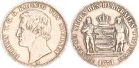 1 Bergbautaler 1871 B Sachsen Königreich S...