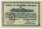 Kriegsmarine 5 Mark Gutschein Hindenburg 2...
