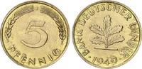 5 Pfennig 1949 J Deutschland 5 Pf.Bank dt....