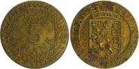 5 Franken 1918 Nebengebiete / Gent Gent   ...