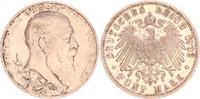 5 Mark Baden 1902 Deutschland / Kaiserreic...