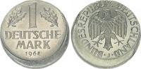 1 DM Fehlprägung 15% dezentriert 1968 J De...