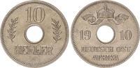 10 Heller 1910J Kolonien / Ostafrika Deuts...