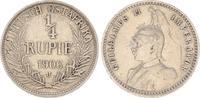 1/4. Rupie 1906 J Kolonien Deutsch-Ostafri...