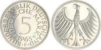 5 DM 1965 F Deutschland 5 DM J.387 Silber ...