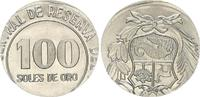 100 Soles, Fehlprägung  Peru Peru, 100 Sol...